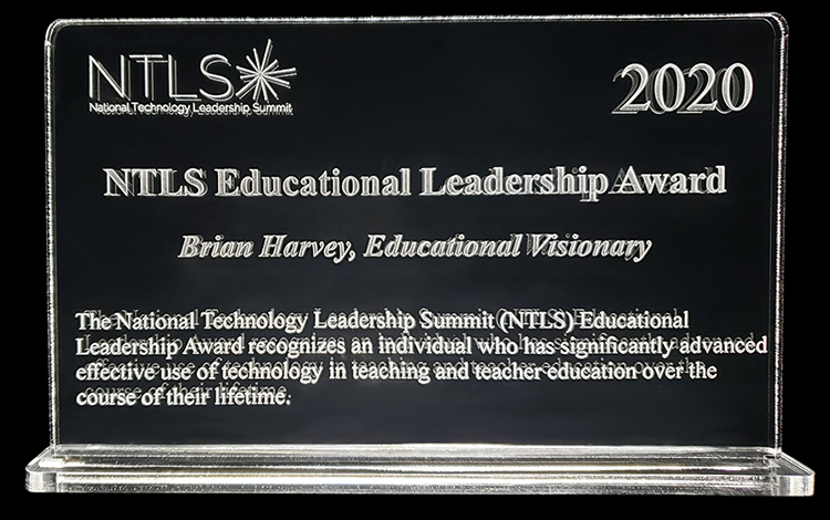 NTLS Award (Brian Harvey)