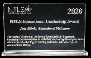 NTLS Award (Jens Monig)