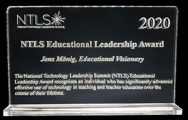 NTLS Award (Jens Monig)