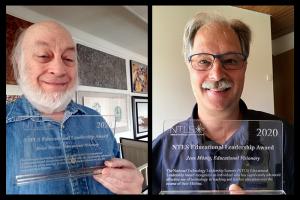 Brian and Jens Award Winners